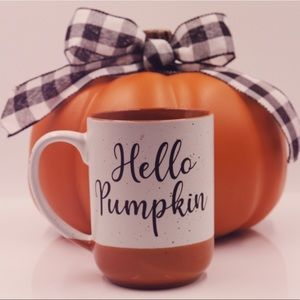 Hello Pumpkin Holiday Mug